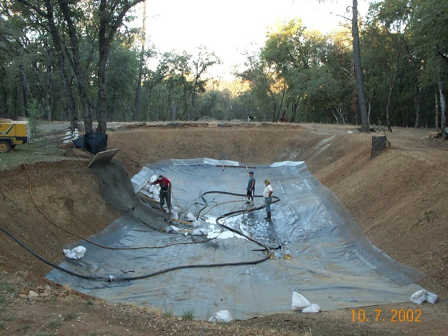 Ponds for Bass pond construction